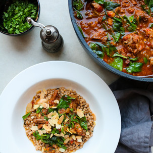 Slow Cooked Lamb Tagine