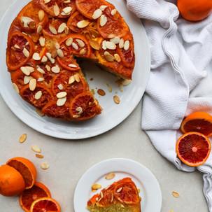 Blood Orange Upside-Down Cake