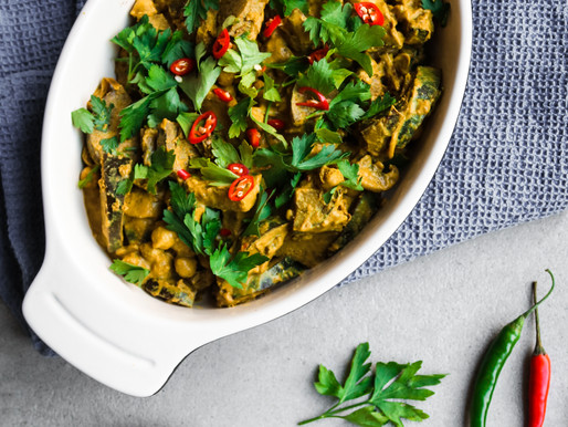 Coconut and Peanut Vegetable Curry