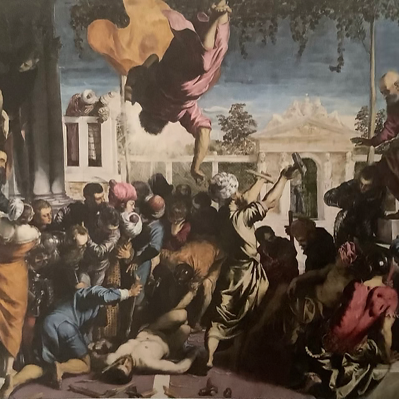 IN THE FOOTSTEPS OF TINTORETTO