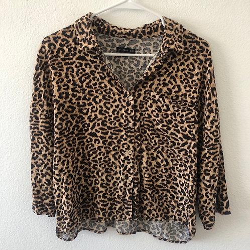 Cotton On Leopard Top XL