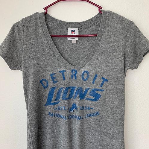 NFL Detroit Lions Athletic Ladies Sz