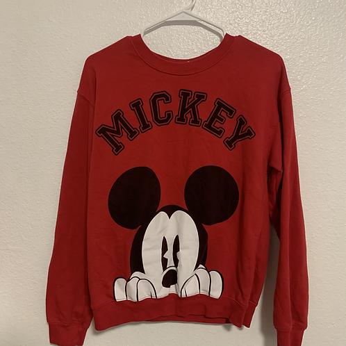 Disney Mickey Mouse Sweater Sz M (7-9)