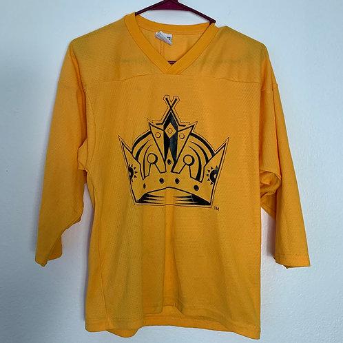 NHL LA Kings Yellow Jersey CCM Sz Youth S