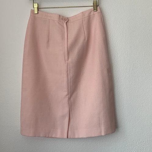 Ladies Work Skirt Sz 8 | Warm Pink