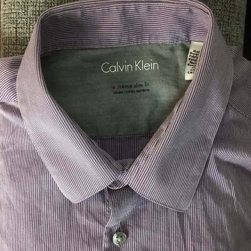 Calvin Klein Button Down Sz 15.5