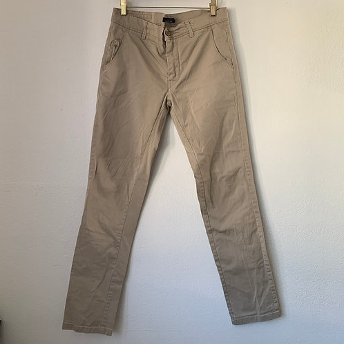 Zara Man Brown Chicos Pants Sz 40