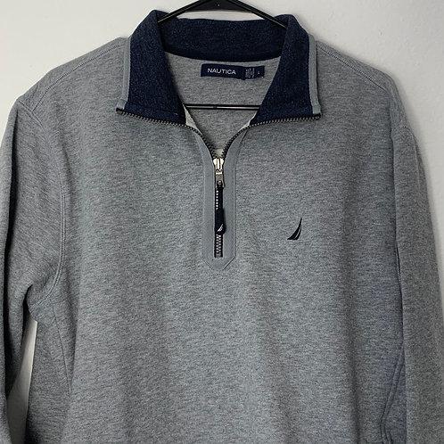 Nautica Mens Gray Sweater Sz L