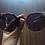 Thumbnail: Perverse Purple Doll Face Sunglasses