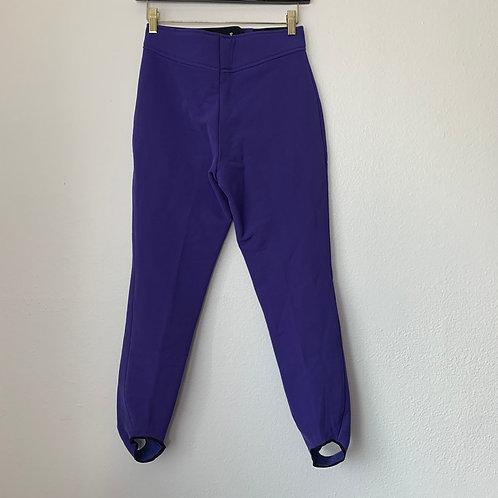 Fera Skiwear Purple Pants Sz 6R