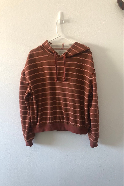 Urban Outfitters Striped Hoodie Small