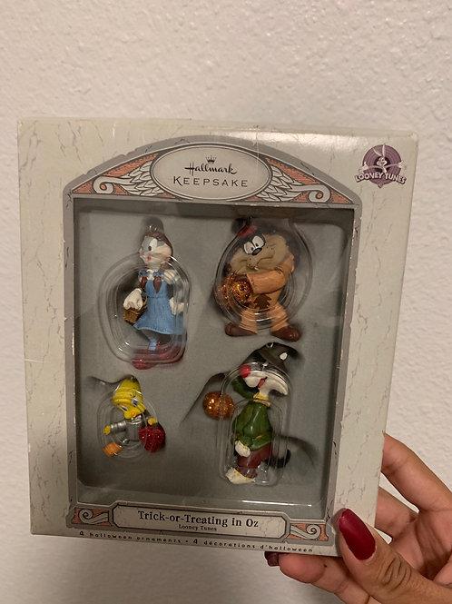 Hallmark Looney Tunes Halloween Ornaments - 4 piece