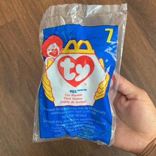 1998 Vintage McDonald's TY Toy Animal Bundle