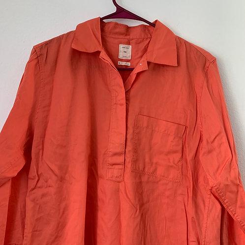 Gap Peachy Color 3/4 Sleeve Sz M
