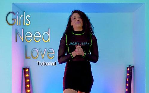 Girls Need Love by Summer Walker | Tutorial