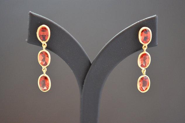 Andesine drop Earrings