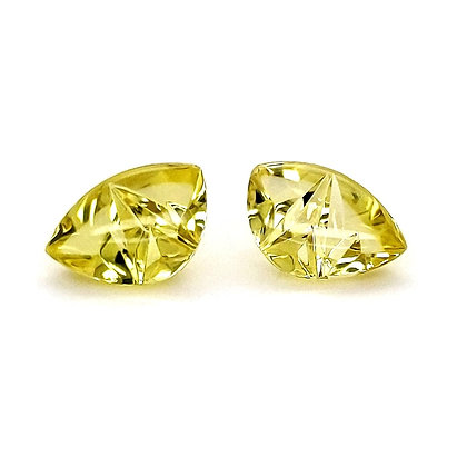 Stunning Lemon Citrine -Matched Pair