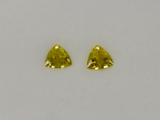 Chrysoberyl - Matched Pair