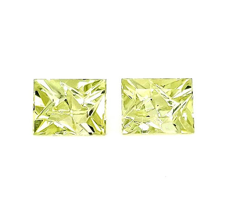 Matched Pair - Yellow Beryl (Heliodor)