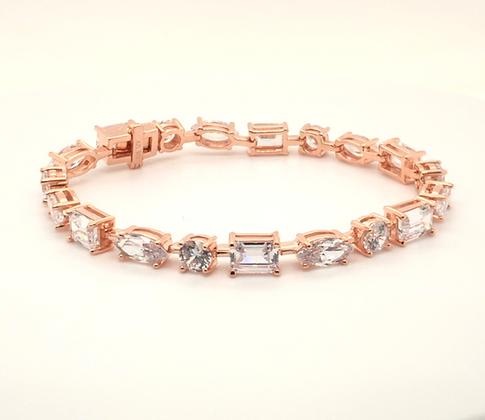 Timeless Rose Gold Bracelet