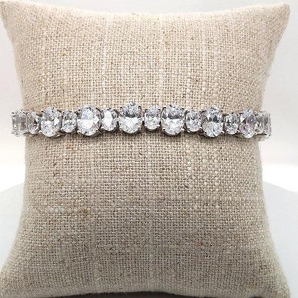 Sparkling White Tennis Bracelet