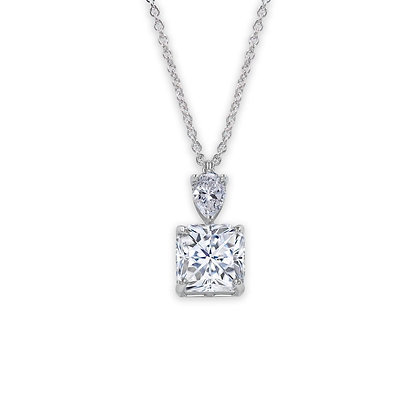 Stylish Asscher cut Pendant