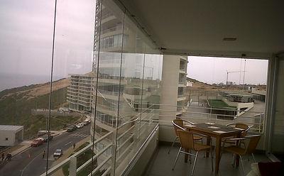 cierre de terraza plegable ideal para dividir ambientes o cerrar sus terrazas balcones y locales comerciales este sistema de cierre es novedoso