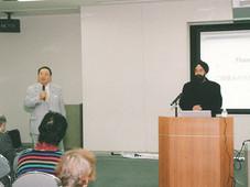 「神戸大好き・あすのKOBEを創る会」研修会講演、インドビジネスのこれからとインド人との付き合い方