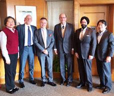 アレン・グリーンバーグ駐大阪・神戸米国総領事主催、ACCJ関西支部シニアリーダーと昼食会