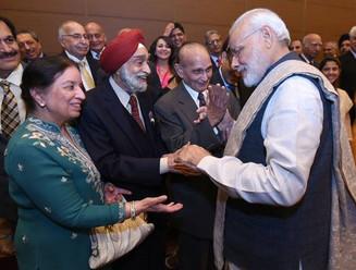 ナレンドラ・モディ、インド首相が来日。在日インドコミュニティメンバーと神戸で交流