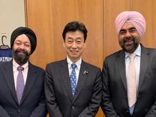 ジュピターインターナショナルコーポレーション社長、キラン・セティが首相官邸を訪問。