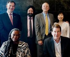 キラン・セティ、ハガティ 駐日米国大使とケリー駐大阪・神戸米国総領事とACCJ関西支部幹部とともに大阪で面談。