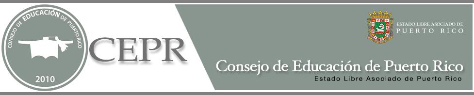 CONSEJO GENERAL DE EDUCACIÓN