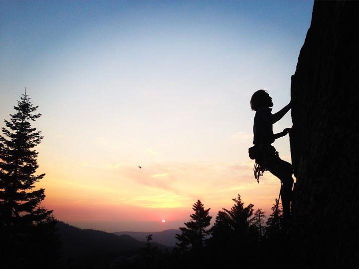 Free Climbing Hawk Dome