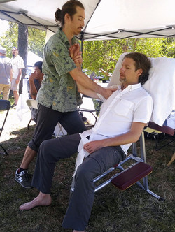 Thai Chair Massage