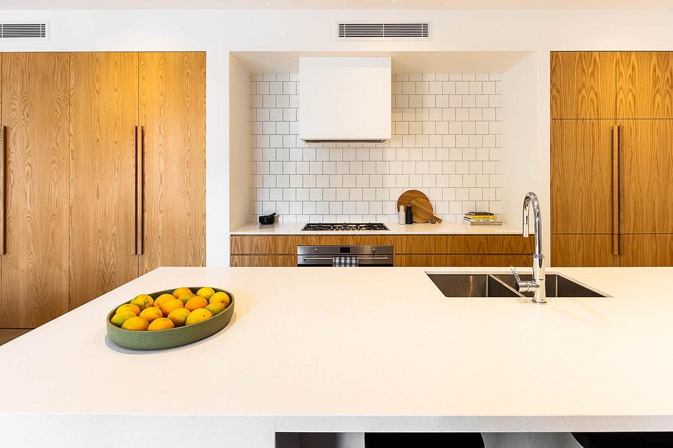 kitchen, tiles, oven, sink, bechtop