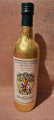 Huile d'olive extra vierge, 75 cl qualité supérieure, Fruitée et douce.