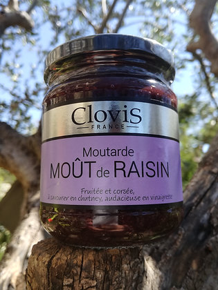 Moutarde Moût de raisin 200 gr