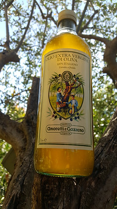 Huile d'olive extra vierge, 1 L qualité supérieure, Fruitée et onctueuse.