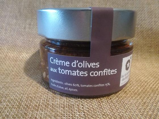 Crème d'olives aux tomates confites ~ 90gr