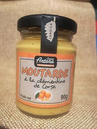 Moutarde à la clémentine de Corse 90 gr