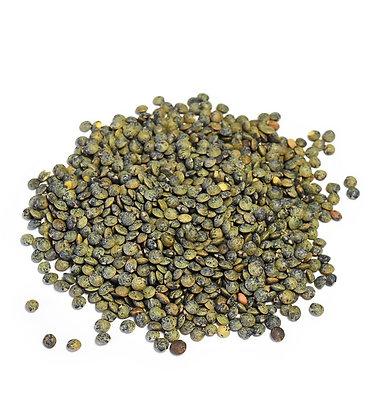 Lentille verte du Berry, les 100 gr en vrac