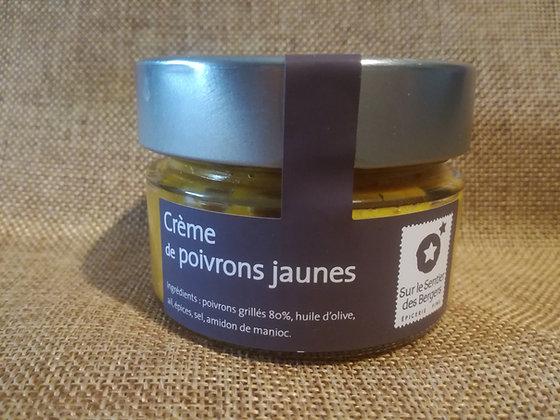 Crème de poivrons jaunes ~ 90 gr