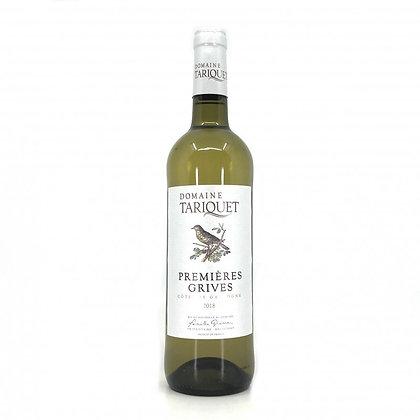 Premières Grives  Côtes de Gascogne I.G.P 2018 - Domaine Tariquet