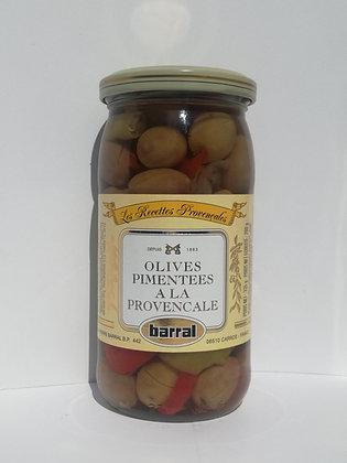 Olives pimentées la provençale 200 gr égoutté