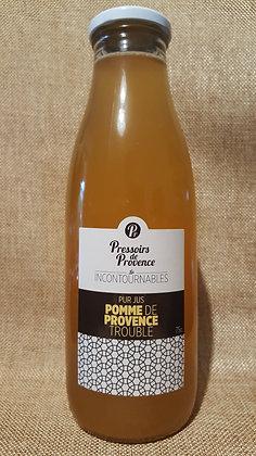 Jus de pomme de Provence trouble 75 cl