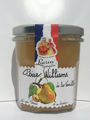 Préparation Poire à la vanille / Pommes