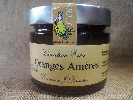Confiture EXTRA d'oranges Amères, 320 gr