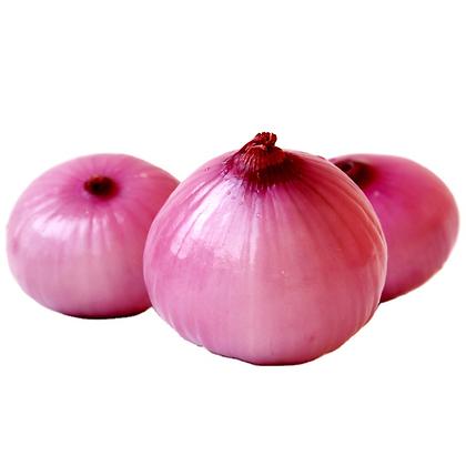 Oignon frais rouge par 500 gr