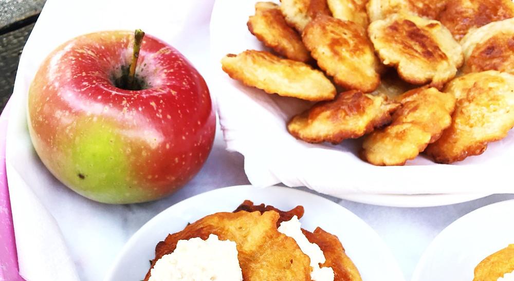 jablkové lievance